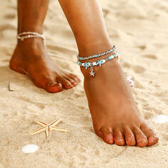 Fashionable Cool Alloy Beach Jewelry Anklets