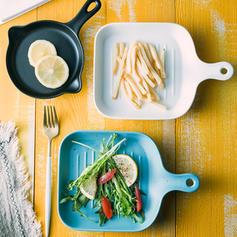 Solid Novelty Porcelain Serving Dishes & Platters