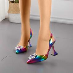 Mulheres Outros com Strass Cor da emenda sapatos