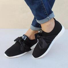 Vrouwen Doek Mesh Casual Outdoor met strik schoenen