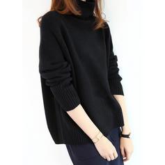 Egyszínű Garbó πουλόβερ