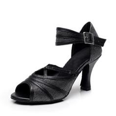 Жіночі Латинський Сандалі з Гомілковий ремінець Балетне взуття