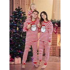 Santa Striped Family Matching Christmas Pajamas