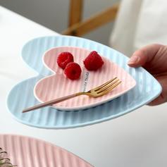 Forme de coeur Porcelaine Ensembles de vaisselle (lot De 2)