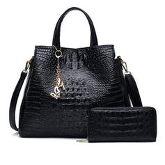 Charming/Fashionable/Alligator Pattern Shoulder Bags