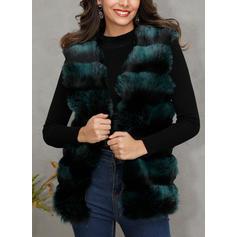 Polyester Sleeveless Plain Vest