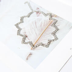 Shining Alloy Rhinestones Necklaces
