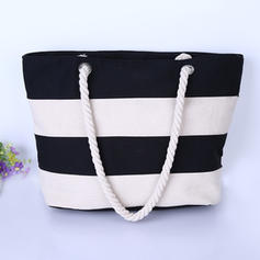 Attractive/Splice Color Canvas Tote Bags/Shoulder Bags