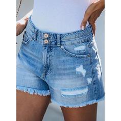 înfășurate Casual Blug Pantaloni scurti