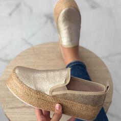 Frauen PU Lässige Kleidung Outdoor Sportlich Schuhe