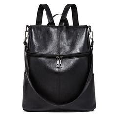 Jednobarevná PU Tašky přes rameno/batohy