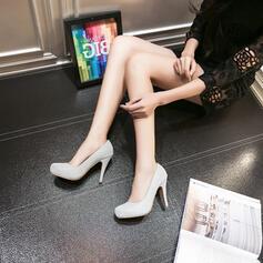 Frauen Funkelnde Glitzer Stöckel Absatz Absatzschuhe Geschlossene Zehe mit Funkelnde Glitzer Schuhe