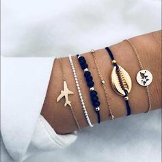 Legering Armband Strand smycken (Sats om 6)