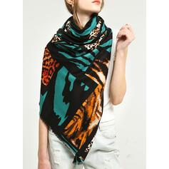Leopard/Retro/Vintage/Tiger Pattern/Tassel/Stitching Light Weight/Oversized/Shawls/attractive/fashion Scarf