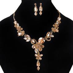 Bonito Liga Acrílico Senhoras Conjuntos de jóias