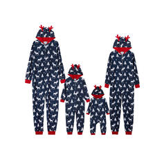 Північний олень Друк Для сім'ї Різдвяні піжами