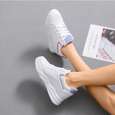 Dla kobiet PU Nieformalny na zewnątrz Atletyczny Z Elastic Band obuwie