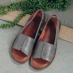 Women's PU Flat Heel Sandals shoes