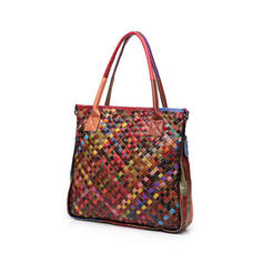 Fashionable/Colorful/Bohemian Style/Braided/Christmas Tote Bags/Shoulder Bags