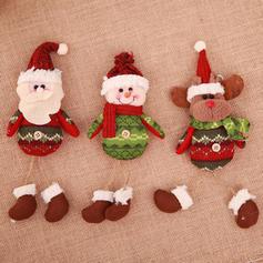 Snowman Reindeer Santa Christmas Hanging Knit Doll Christmas Décor