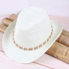 De los hombres Glamorosa Paja salada Sombrero de vaquero/Derby Kentucky Sombreros