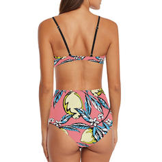 Listy Popruh Klasický přitažlivý Bikiny Plavky