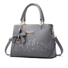 Pretty PU Satchel/Shoulder Bags