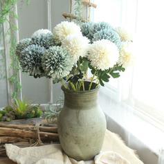 """21.65""""(Aprox.55cm) Tejido sintético Flores de seda ( conjunto de 2)"""