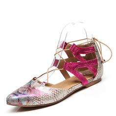 Femmes Latin Chaussures plates Similicuir Latin