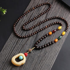 Unique Beautiful Fashionable Lovely Ceramic With Resin Necklaces