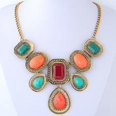 Nice Alloy Resin Women's Fashion Necklace (Sold in a single piece)