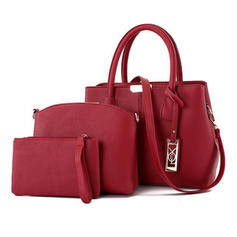 Elegant PU Tote Bags/Shoulder Bags/Bag Sets/Wallets & Wristlets