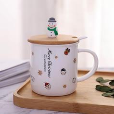 Boże Narodzenie Ceramiczny Aluminium Kubki do kawy