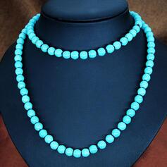 élégant Imitation turquoise Colliers