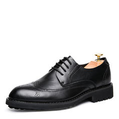 Brogue Dress Shoes Microfiber Leather Men's Men's Oxfords