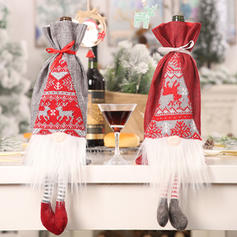 Merry Christmas Long Leg Cloth Bottle Cover