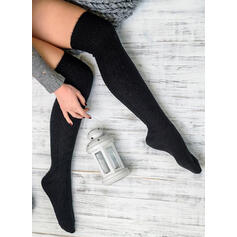Solid Color Comfortable/Women's/Knee-High Socks Socks/Stockings