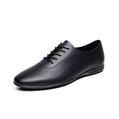 Hommes Vrai cuir Chaussures plates Tennis Pratique Chaussures de danse