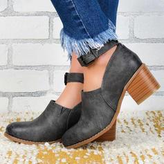 De mujer PU Tacón stilettos Salón con Hebilla zapatos