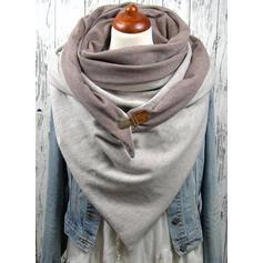 Couleur unie mode/Style Simple Écharpe