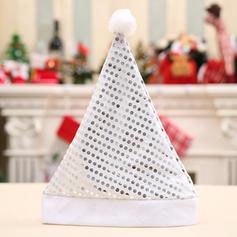 щасливого Різдва Санта Неткане полотно Різдвяні шапки