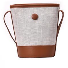 Delicate/Special/Cute Linen Crossbody Bags/Bucket Bags