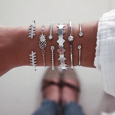 Alloy Jewelry Sets Bracelets (Set of 6 pairs)