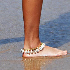 Schön Legierung mit Schale Frauen Strandschmuck