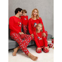 Noel Baba Aile Eşleşen Noel Pijamaları