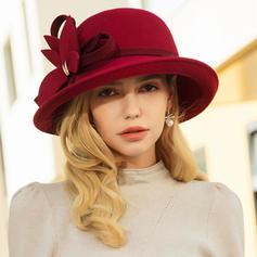 Ladies' Elegant/Simple Wool Floppy Hats