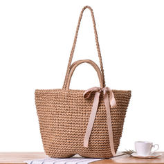 Unique/Charming/Bohemian Style Paper Rope Shoulder Bags/Beach Bags