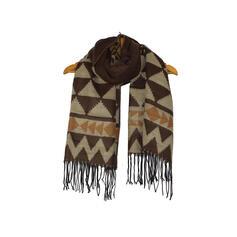 Tassel/Christmas/Geometric fashion/Christmas Scarf