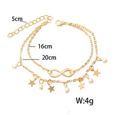 Lovely Alloy With Imitation Pearl Women's Beach Jewelry