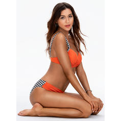 Triangle Push Up Strap Sexy Plus Size Bikinis Swimsuits